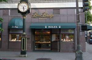 The front of Seattle's Ben Bridge Jewelry company, a Washington Business Legend