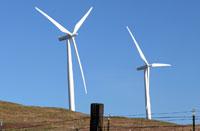 A wind farm in Eastern Washington