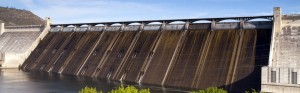 Spillway of the Grand Coulee dam
