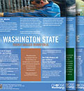 A stack of Washington State information
