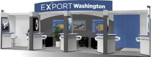 Export Washington booth artist concept