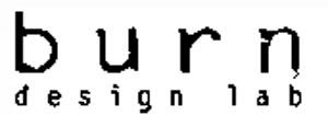 burn design lab logo