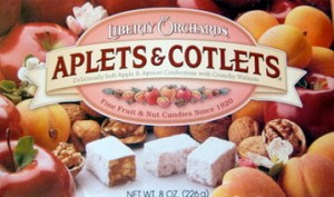 A gift pack of Aplets and Cotlets candy
