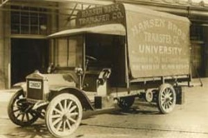 Hansen Brothers Model T delivery truck