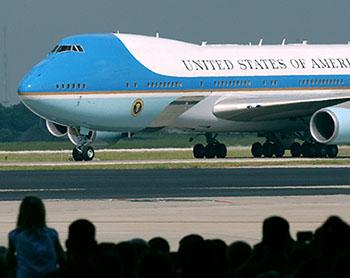 President Bush visits MacDill AFB