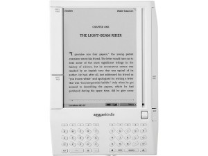 A Kindle reader