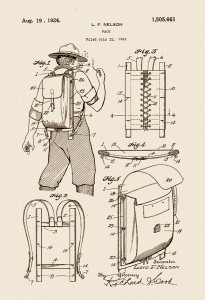 The backpack, invented in Washington State
