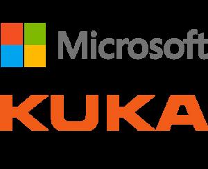 Mircrosoft and Kuka company logos