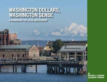 The cover of the Washington Dollars, Washington Sense book