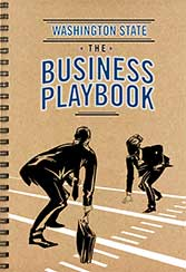 Cover of the Washington State Small Business Playbook