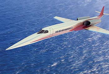 The Aerion Supersonic Business Jet.