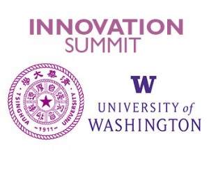 Logo for the Innovation Summit at the University of Washington