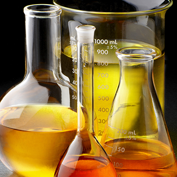 flasks of biofuels for research