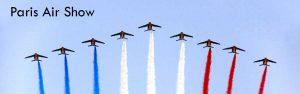 A France precision aerobatic team opens the Paris Air Show