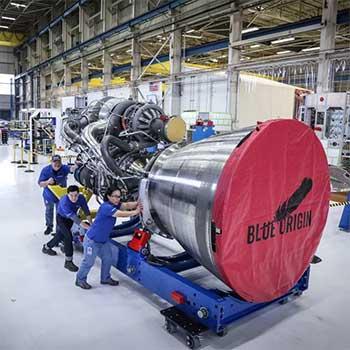 Blue Origin snags big rocket order.