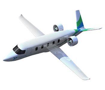 Zunum Aero hybrid electric airplane