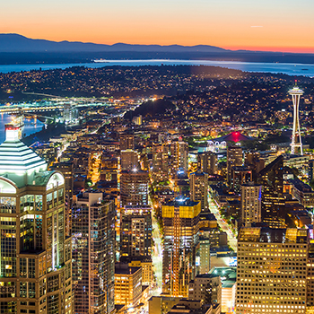 Seattle's technology-centric economy helped push Washington to the top of CNBC's rankings.