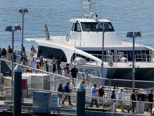 Fast ferry service from Bremerton to Seattle begins July 10.
