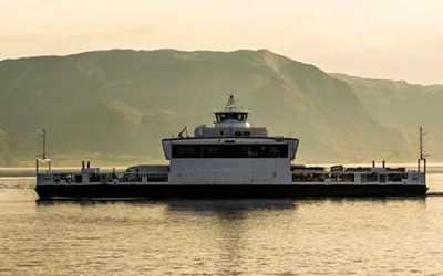 An electrifying choice in maritime.