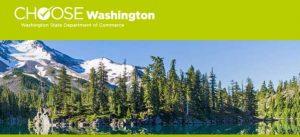 Business Development Update showing Mt. Rainier