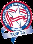 Top 25 Award Badge