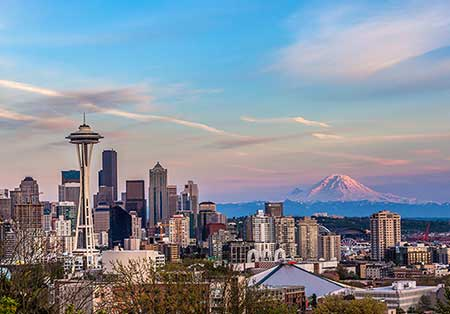 Downtown Seattle continues its brisk pace in new investment.