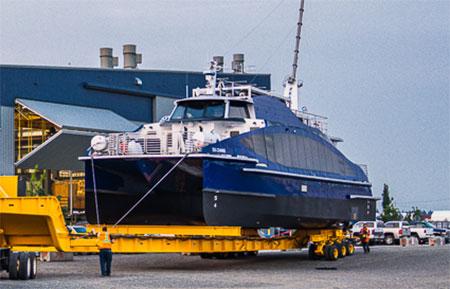 Een nieuwe veerboot op waterstof staat klaar voor lancering